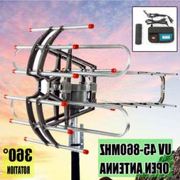 1080p outdoor amplified antenna 150 miles hd