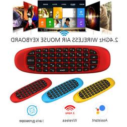 2.4G Air Mouse Remote Control Mini Keyboard For Android TV B