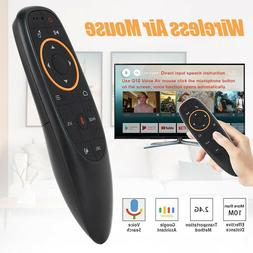 G10 2.4G Voice Smart Remote Control Wireless Air Mouse for A