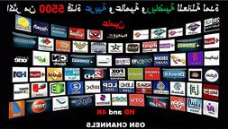 2019 THE BEST ARABIC TV BOX IPTV 5500 4K and HD With Extra R