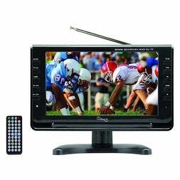 """Supersonic 9"""" Portable Widescreen LCD TV with Built in Digit"""