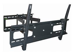 Black Full-Motion Tilt/Swivel Wall Mount Bracket for Vizio P