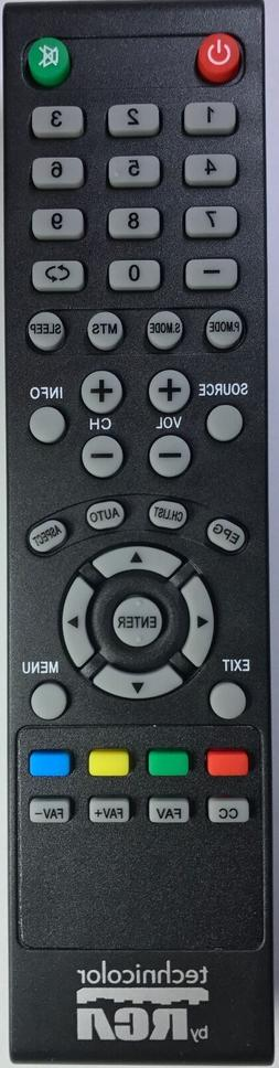 Original New Technicolor by RCA  TV Remote for most Technico