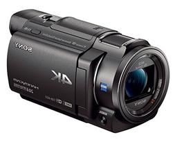 Sony - Handycam Ax33 4k Flash Memory Camcorder - Black