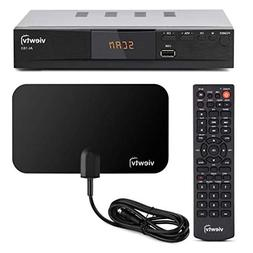 Viewtv AT-163 ATSC Digital TV Converter Box Bundle with View