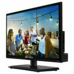 Flat Screen LED TV Backlight 20 Inch HD with Built In DVD Pl