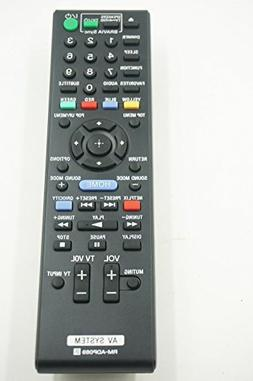 General Replacement Sony Av System Remote Control Rm-adp069