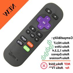 Amaz247 Standard IR Replacement Remote ROKU Express/+ Premie