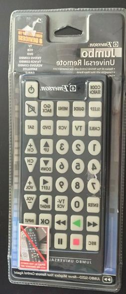 "Emerson 11"" x 5"" Jumbo Universal Remote  NEW / Sealed"
