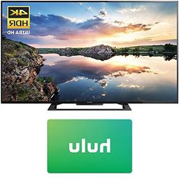 Sony KD60X690E 60-inch 4K Ultra HD Smart LED TV  Hulu $25 Gi