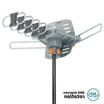 1080p hdtv 150miles outdoor amplified tv antenna