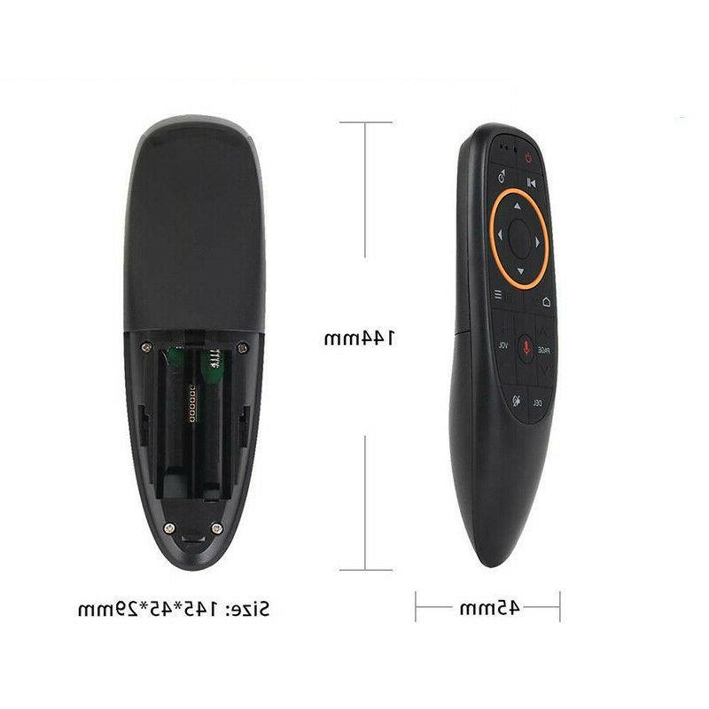 G10 2.4G Voice Remote Air Mouse for Android Box