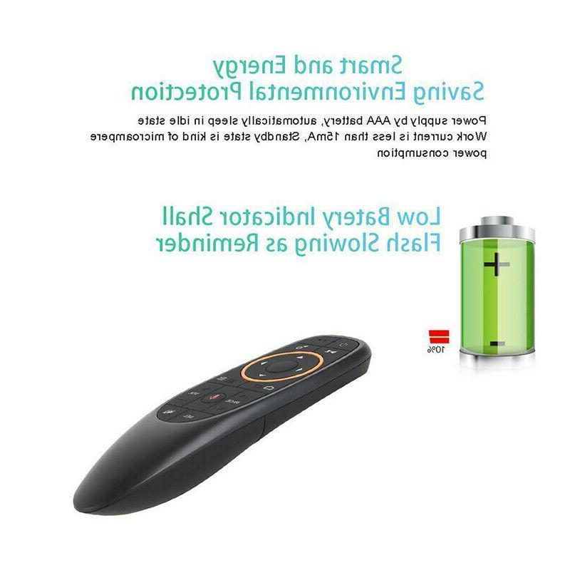G10 2.4G Voice Remote Wireless Mouse for Android TV Box
