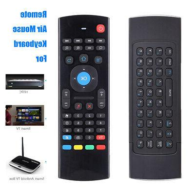 2.4G Wireless Control Keyboard Mouse Android Smart TV PC 10M