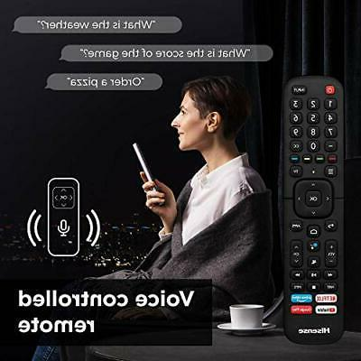 50-Inch Class H8 Series Android Smart TV with Voice (50H8G, 2020