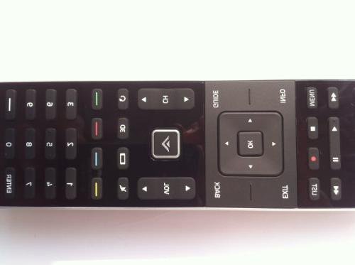 New VIZIO XRT510 Remote with Wi-Fi Universal Backlit Remote