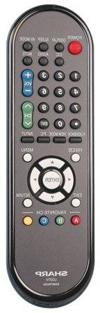 Sharp RRMCGA667WJSA Television Remote Control Genuine Origin