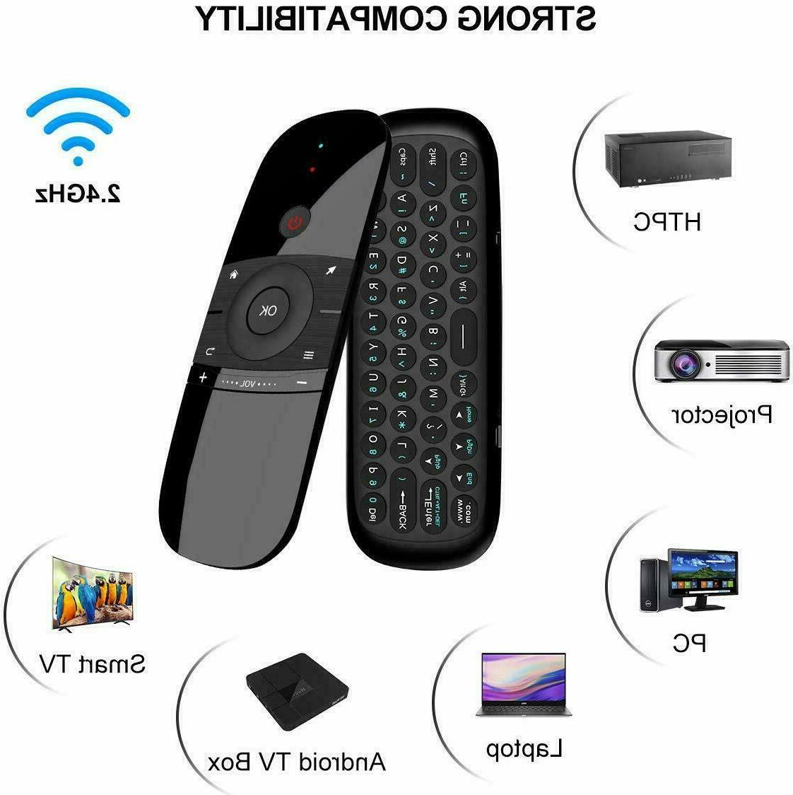 Air Mouse Gaming Remote Voice Android TV box