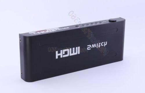 Aluminium HDMI Switch Power Adapter More on