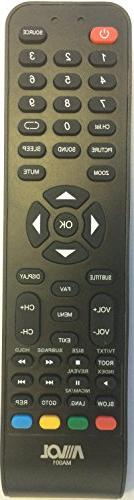 New USARMT AVOL MA001 Remote for AVOL TV AET32300M