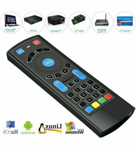 Bluetooth Mouse Keyboard Remote Control Android TV Box Smart TV