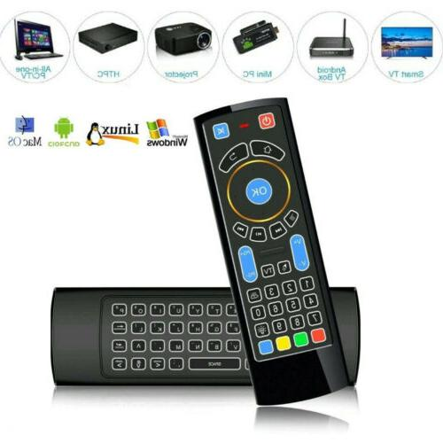 bluetooth air mouse wireless keyboard remote control