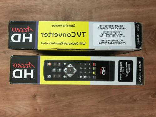 ACCESS ANALOG TV BOX WITH DEDICATED CONTROL