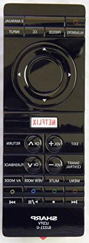 USARMT GJ221-U New Replacement Remote Control fit for Sharp