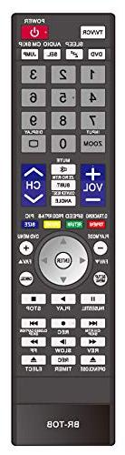 Smartby HDTV DVD Remote Control Compatible with Toshiba SE-R