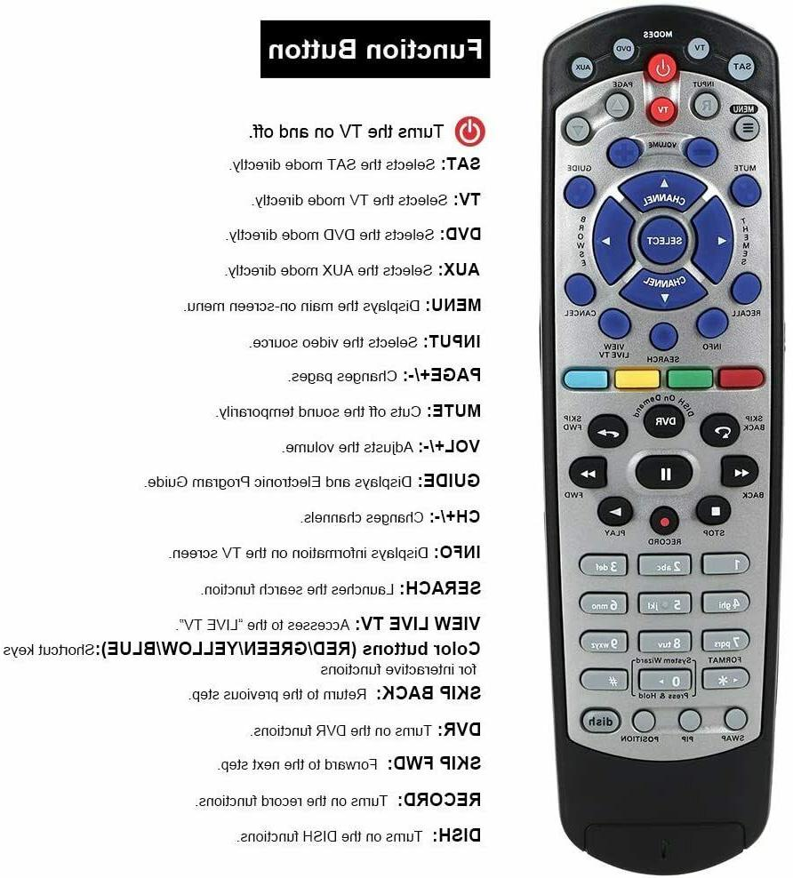 Learning Remote 20.1 IR Network TV 311