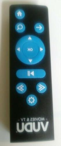 VUDU movies & TV remote control  model RS-T1