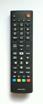New AKB75095330 Remote Control for LG TV AKB74915305 43UH610