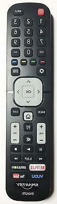 New EN2A27S TV Remote Control fit for Sharp 4K ULTRA LED SMA