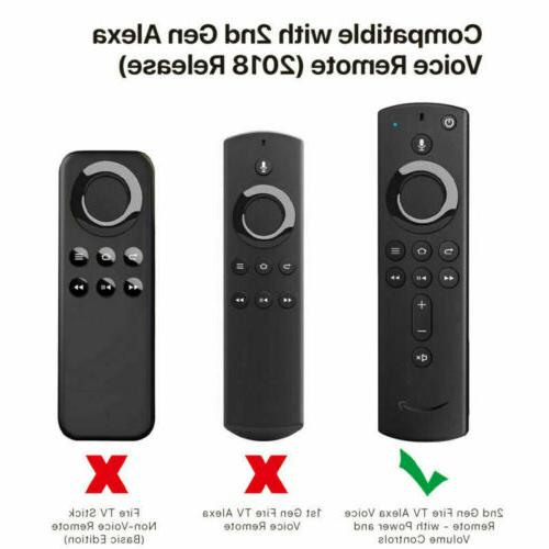 NEW 2nd Gen Fire TV Voice Silicone Shock Proof Case