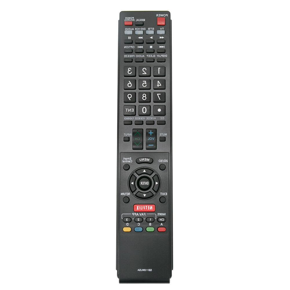 new gb118wjsa replaced remote for sharp aquos