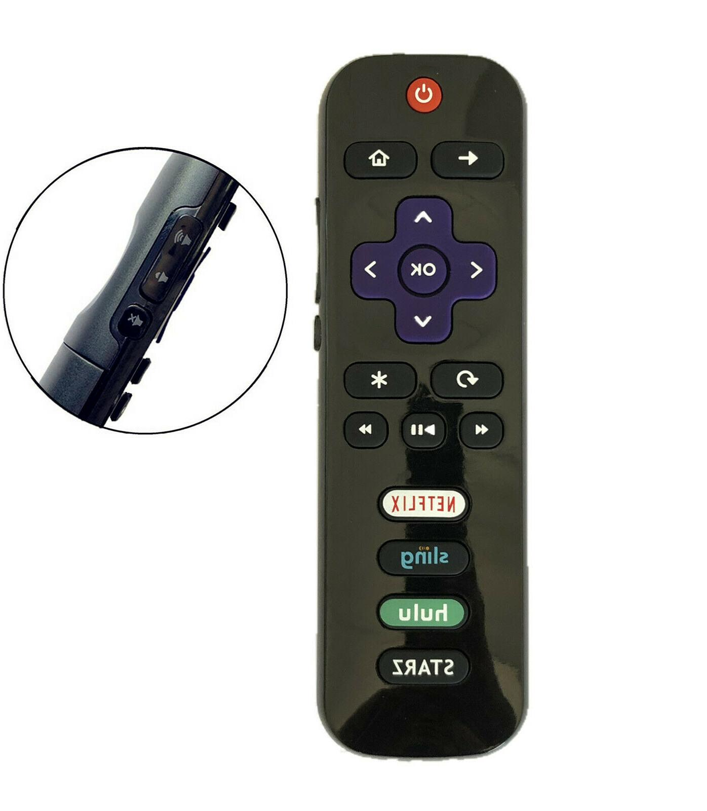 New RC280-07 HDTV Remote for TV with Netflix Sling 50FS3750