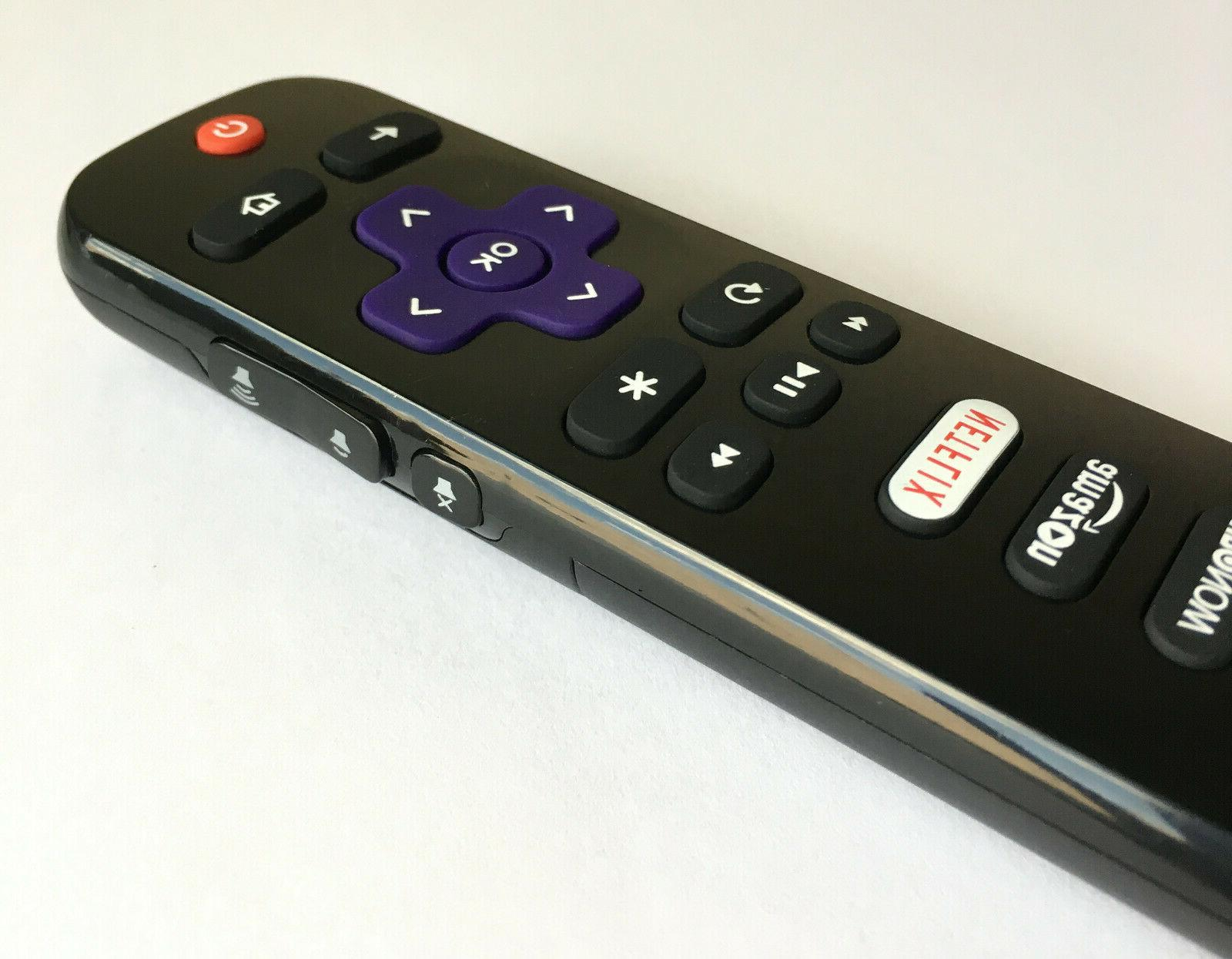 New RC280 Remote for TV with HBONOW Netflix Amazon