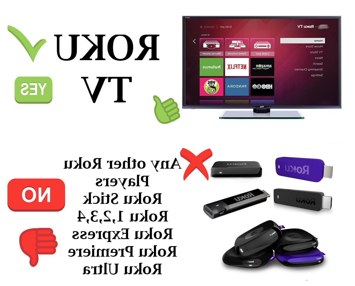 Remote for TCL/SANYO/ Philips/ RCA and More Roku TVs™
