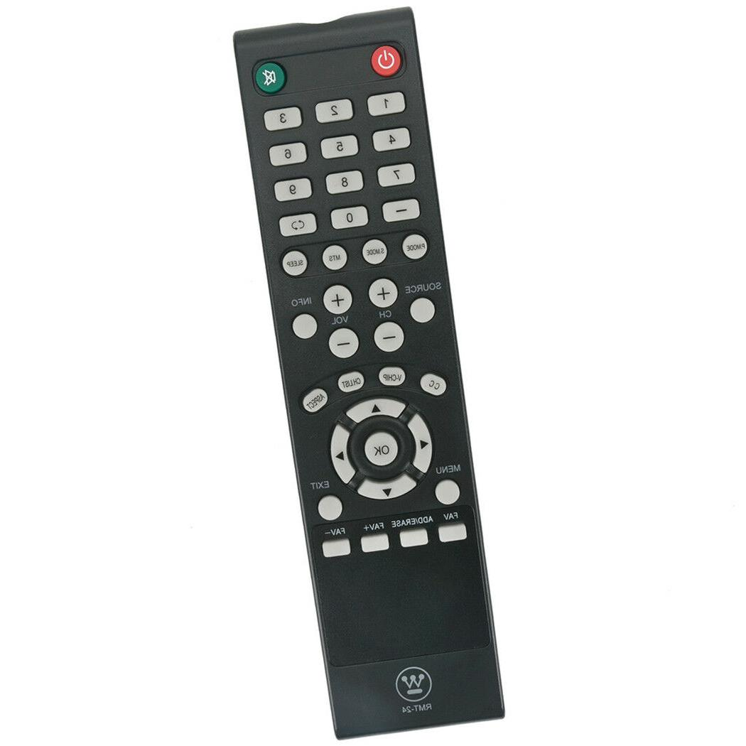 new rmt 24 remote for westinghouse tv