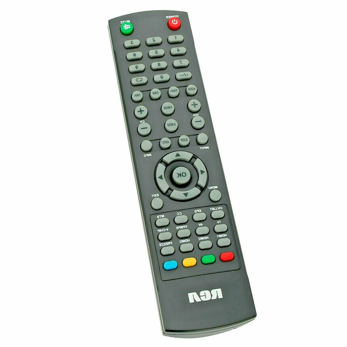 New TV Remote Control for RCA LCD HDTV RTU5540-B RLDED4016A-