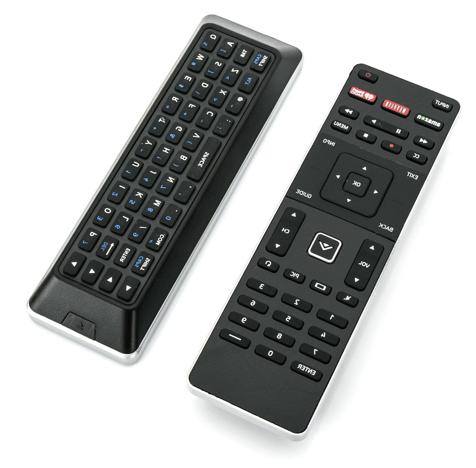 New Smart TV Remote with Keyboard Qwerty Back