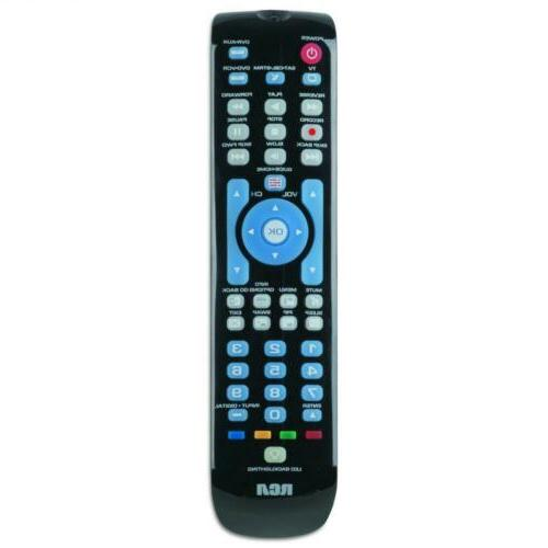 rcrn04gbe four device universal remote black
