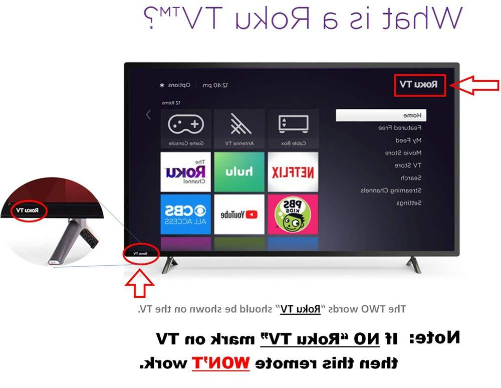 Hisense Roku TV w/ Control & TV Power