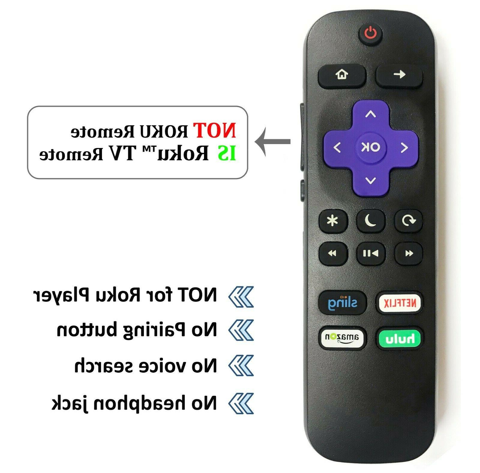 NEW Replacement Remote ROKU TVs™
