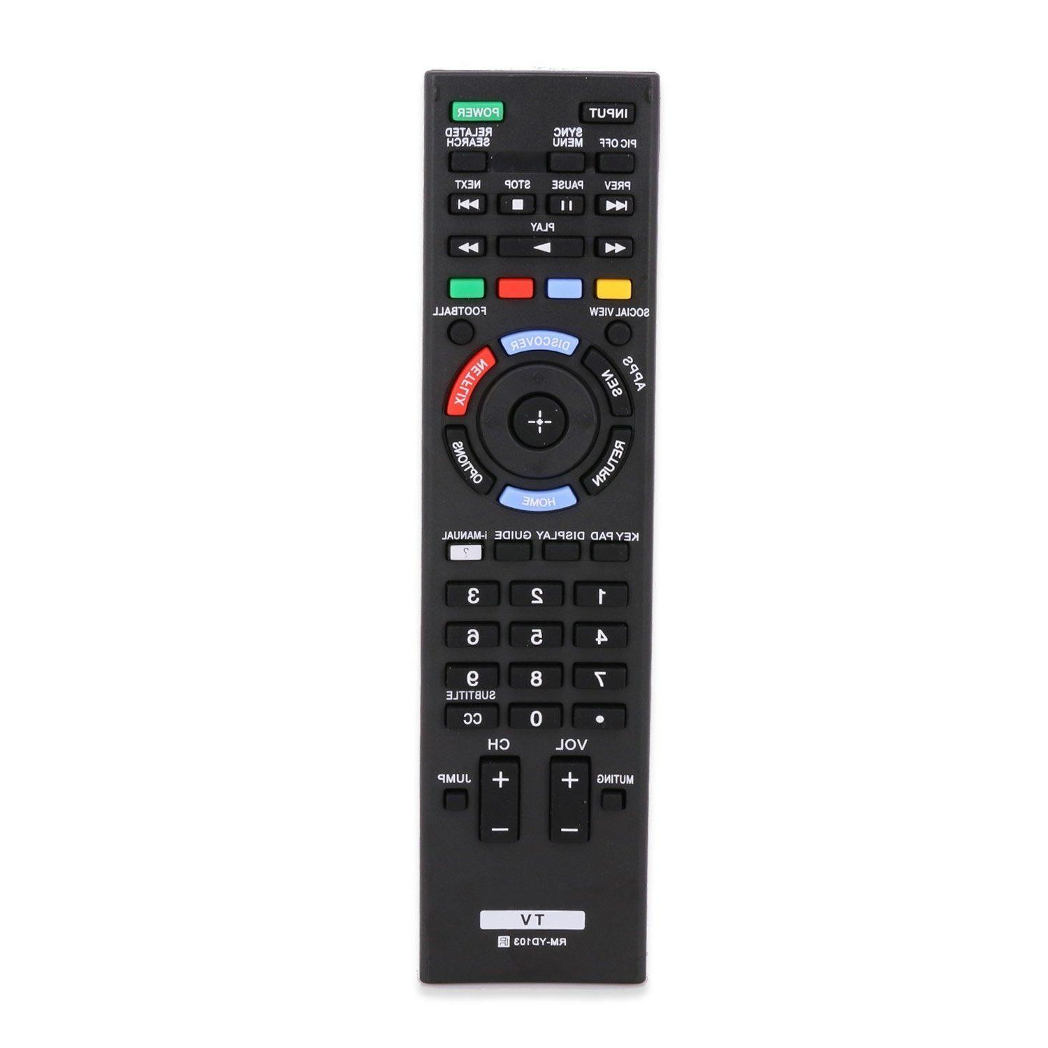 rm yd103 led lcd hdtv tv remote