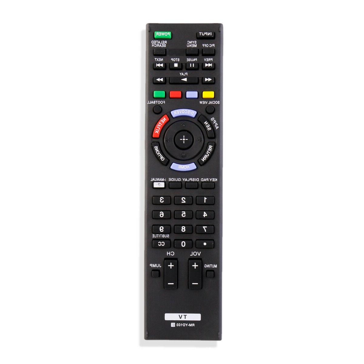 rm yd103 remote control for sony smart