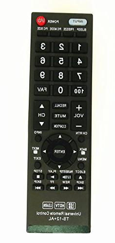 New Toshiba CT-90325 Universal Remote Control for All Toshib