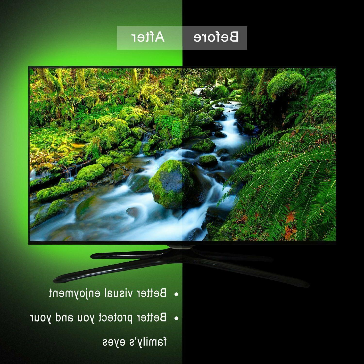 TV LED 65 to 14.8ft with IR Color USB