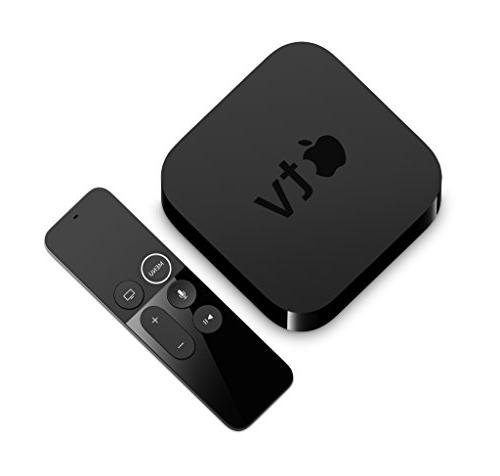 Apple TV 1080p HD Streaming Media Player with Voice The Black