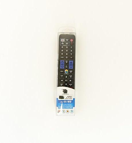 Nettech Remote BN59-01178W for Almost All Samsung Brand 3D/ LCD/ LED/ TV
